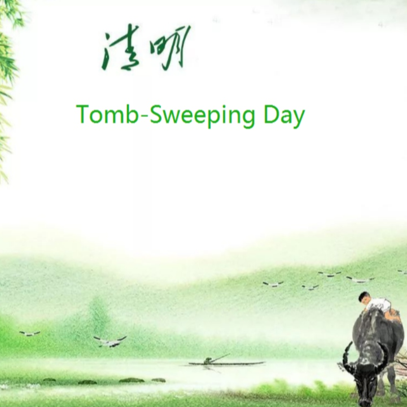 China Tomb-Sweep Day Holiday Notice on April 2, 2020